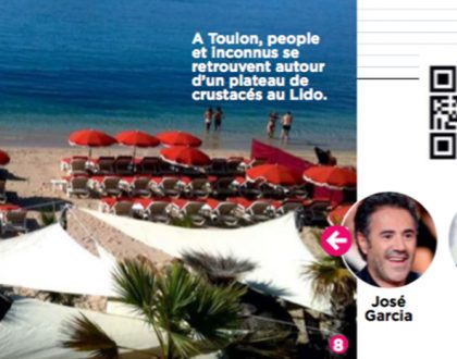 Petite apparition du Lido de Toulon dans le magazine Capital