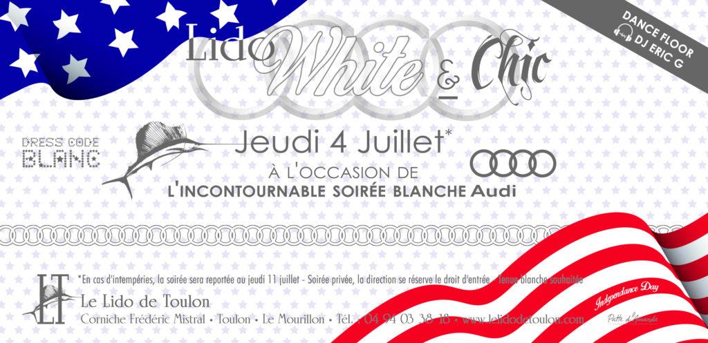 Soirée blanche Toulon