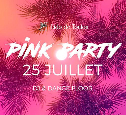 Soirée Rose Pink Party Toulon 2019Soirée Rose Pink Party Toulon Juillet 2019