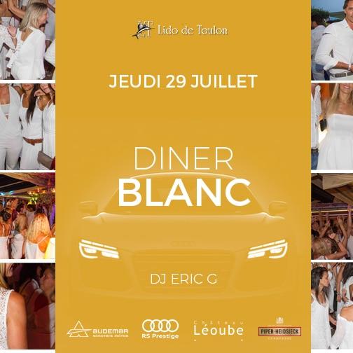 Diner Blanc Lido de Toulon