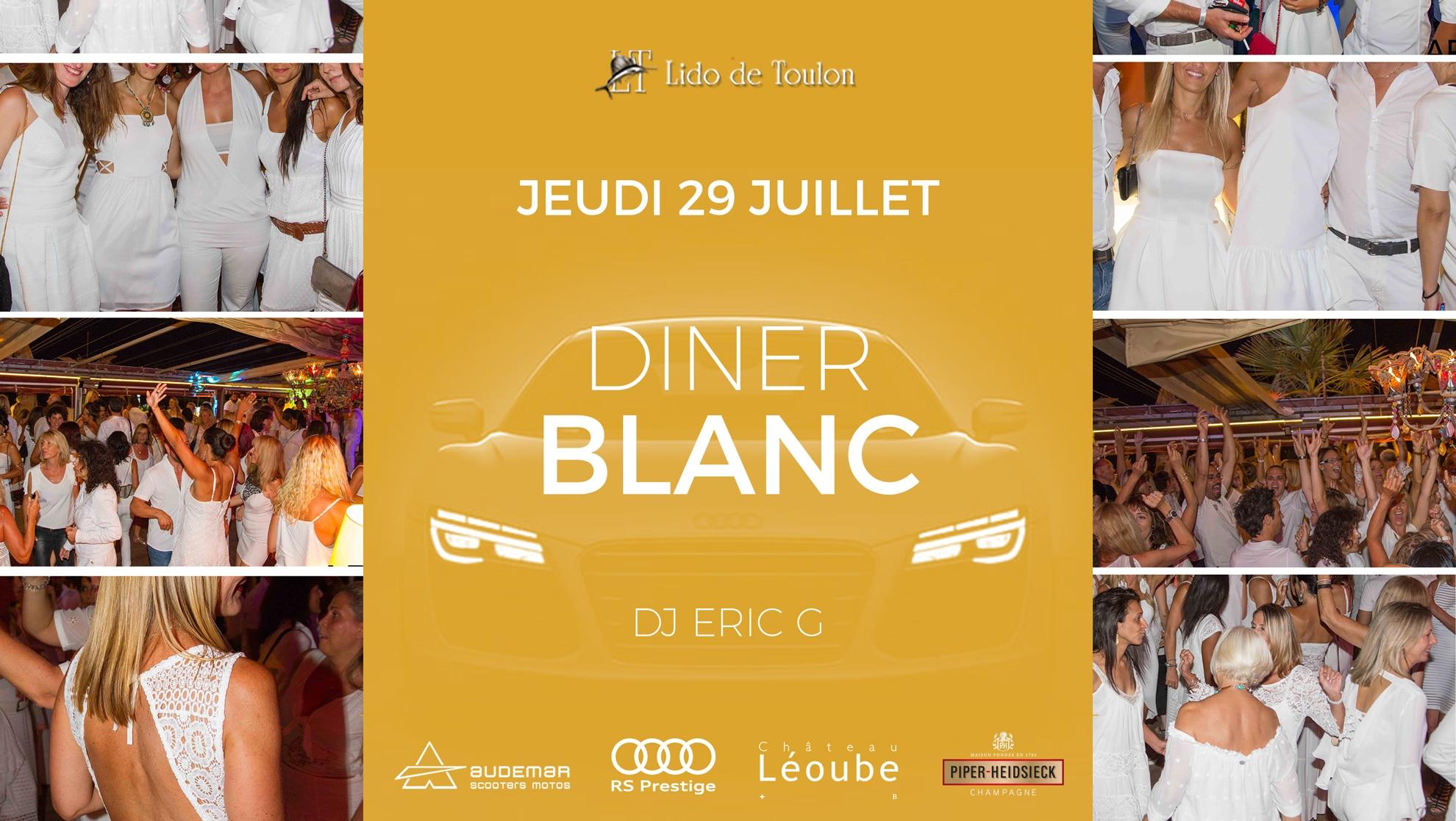 Diner-Blanc Lido de Toulon
